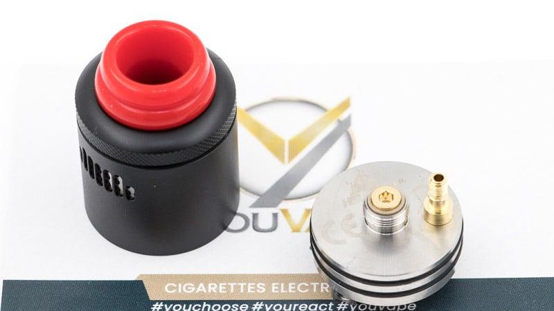 Pin Bf et classique pour un usage en dripper ou en squonker