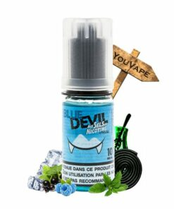 Eliquide Blue Devil sel de nicotine 10ml par Eliquid France