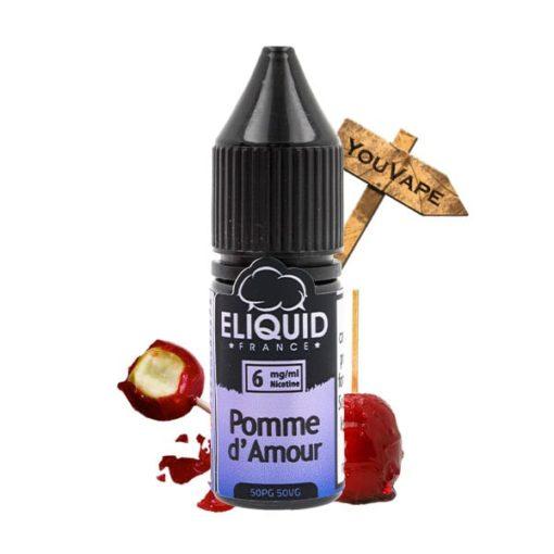Eliquide Pomme d'Amour 10ml par Eliquid France