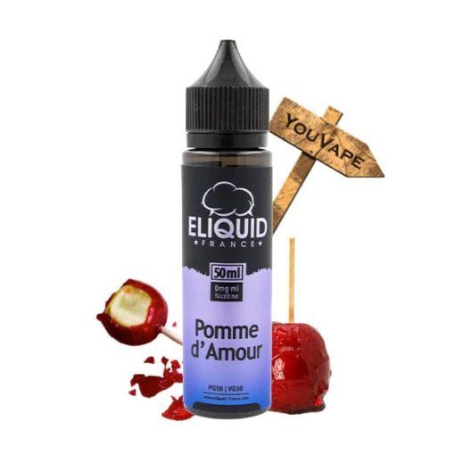 Eliquide Pomme d'Amour 50ml par Eliquid France