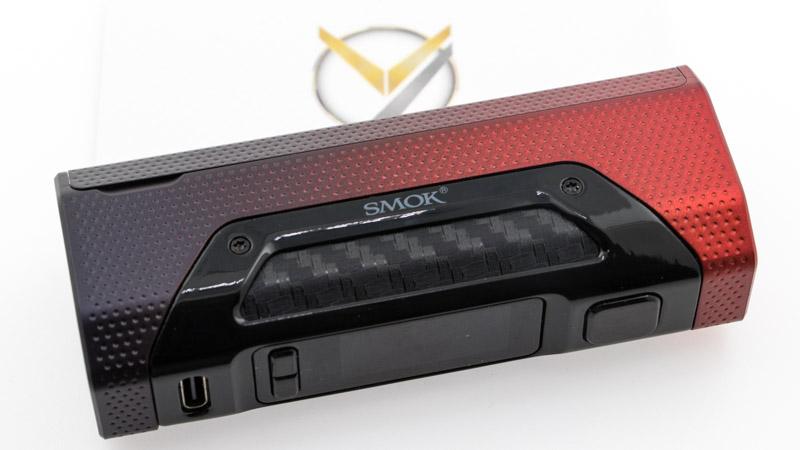"""La box Rigel Mini est fine est compacte, tout en restant très agréable avec son revêtement """"soft touch"""". Il est à la fois doux, et légèrement agrippant, assurant une prise en main sûre. Construite en ABS, elle est à la fois légère (60g) et robuste."""