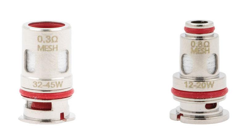Les résistances Dtx Coils existent sous deux formes, adaptées à des atomiseurs et des styles de vape différents.