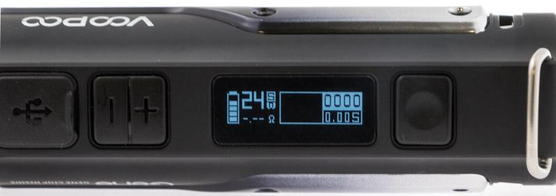Dans ce mode, le chipset propose une puissance idéale en fonction de la résistance que vous avez choisie. Vous restez maîtres de votre réglage, mais le chipset pose une limite supérieure, pour ne pas endommager votre résistance, ou subir un dry hit. Par exemple, pour une résistance dont la puissance conseillée et de 20à 30 watts, la puissance se bloque à 40 watts.