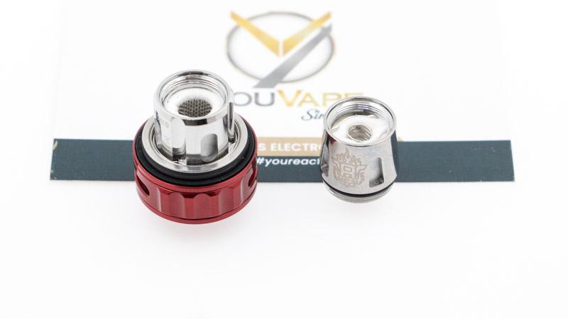 Le TFV9 Mini est livré avec deux résistances