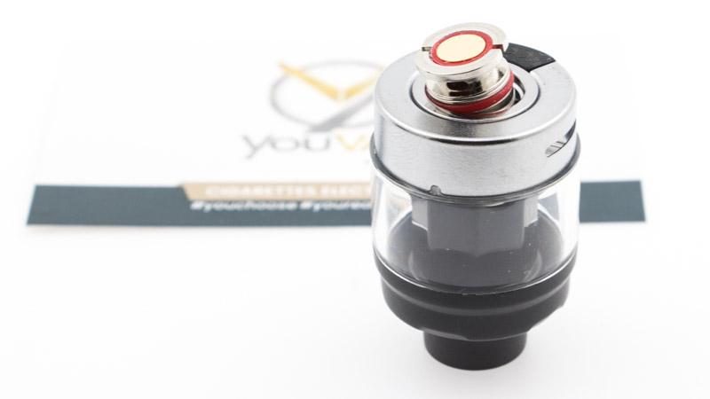 LeKit Swag PX80utilise les résistances de l'excellentegamme GTXdeVaporesso. Le kit est livré avec deux résistances, conformes à son orientation DL : LaGTX0.30 ohmen mesh, dédiée à l'inhalation directe entre 32 et 45 watts. LaGTX 0.20 ohmen mesh, dédiée à l'inhalation directe puissante entre45et60 watts.