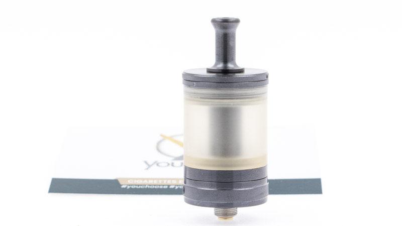 Le Nautilus GT Anniversary propose un réglage d'airflow qui apporte une belle polyvalence,puisqu'il va del'inhalation indirecteserrée, àl'inhalation directe restreinte.