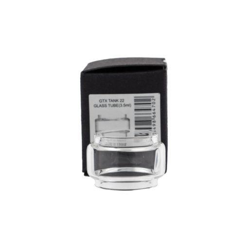 Réservoir en pyrex de rechange pour le clearomiseur GTX 18 de Vaporesso. Avec sa forme bulb, il peut contenir 3ml de eliquide.