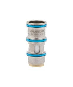 Résistance en mesh conçue pour l'inhalation directe entre 40 et 50 watts.