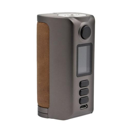 La Box Riva de Dovpo est une box compacte double accu. Très naturelle en main, elle est équipée d'un chipset DNA 250C, pour offrir une alimentation exemplaire.