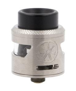 Le Bunker Rda, fabriqué par le moddeur américain Asmodus, est un robuste dripper simple coil destiné à l'inhalation directe, au design inspiré d'un Bunker.
