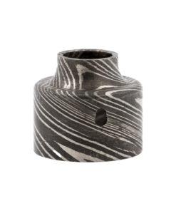 Le Damas Wide Bore Slam Cap de Odis Design intègre à la fois le cap et le drip tip dans une même pièce pour les atomiseurs O-Atty et O-Genny.