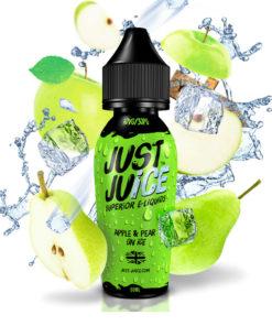 Apple & Pear on Ice 50ml par Just Juice