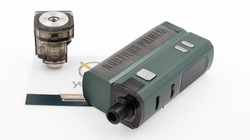 Le Nautilus Prime X est une cigarette électronique AIO (tout en un), qui offre toutes les fonctionnalités d'une box électronique et d'un atomiseur intégré, sous la forme d'une cartouche. Avec son adaptateur 510 pour Nautilus Prime X, Aspire vous permet d'utiliser tout atomiseur avec connexion 510 su votre kit, qui devient une box électronique.
