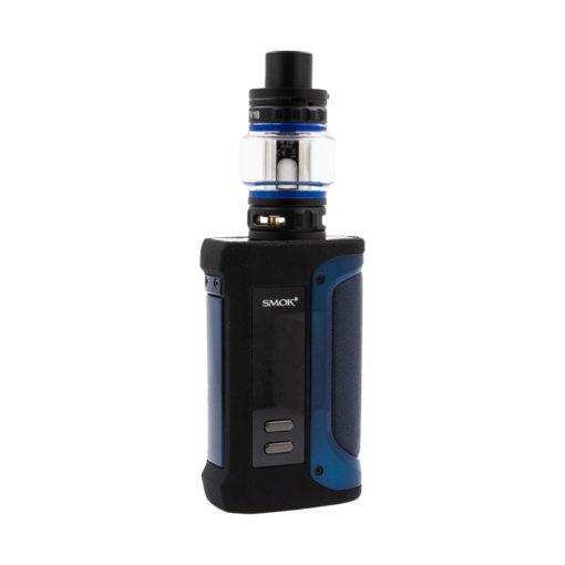 Débridez votre vape subohm avec le kit Arcfox TFV18 de Smok : une box double accu de 230 watts étanche, et un clearomiseur doté de terribles résistances en mesh.