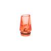 Le drip tip 510 Wistle Style long de Dotmod est un drip tip ergonomique en acrylique, qui isole bien de la chaleur. Sa forme ovale est naturelle pour les lèvres