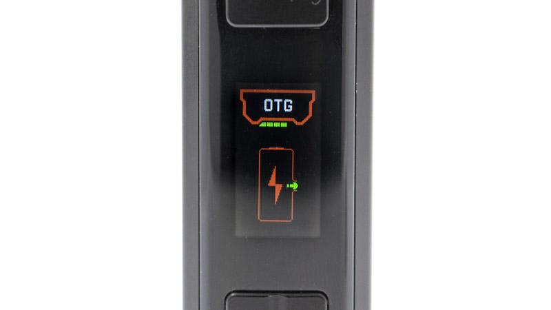 Ce mode est une spécificité de la box Obelisk. Ce n'est pas un nouveau mode de vape, il transforme la box en powerbank. Dans ce mode, vous pouvez par exemple brancher votre smartphone sur la box, pour le recharger.