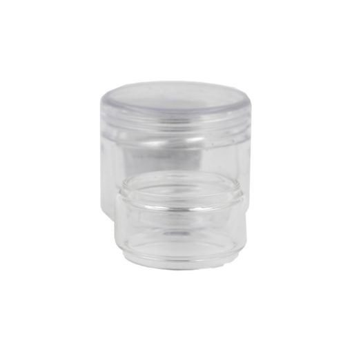 Réservoir bulb en pyrex de rechange pour l'atomiseur Juggerknot V2 RTA du moddeur Canadien QP Design. Il peut contenir 5,5ml de e liquide.