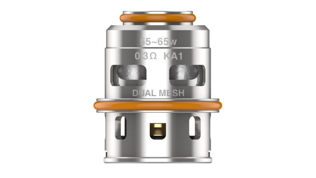 Résistances M Series Coils de remplacement pour le clearomiseur Z-Max Tank de GeekVape. Basées sur un résistif en mesh, elles produisent une vapeur dense.