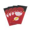Packs de 4Wrapspour accus18650, décorés de motifs