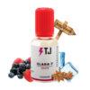 L'arôme concentré Clara-T de T-Juice, créateur du fameux Red Astaire, dont il est une variante, propose des sensations intenses de fruits rouges, relevées par des notes d'anis et une délicieuse fraîcheur. Cet arôme, fabriqué au Royaume Uni, est proposé en flacon de 30ml. C'est une recette toute prête, à diluer dans une base afin de réaliser votre propre e-liquide. Le fabricant préconise un dosage de 15% et un temps de maturation de 3-10 jours.