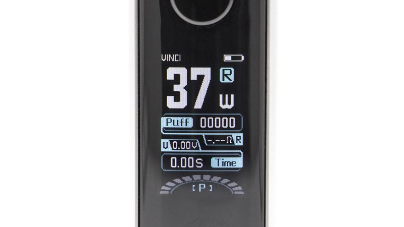 Le mode Rba. Il s'affiche en bleu, et fonctionne comme un mode puissance variable traditionnel. Vous êtes alors libre de régler la puissance sur toute la plage offerte, de 5 à 50 watts.