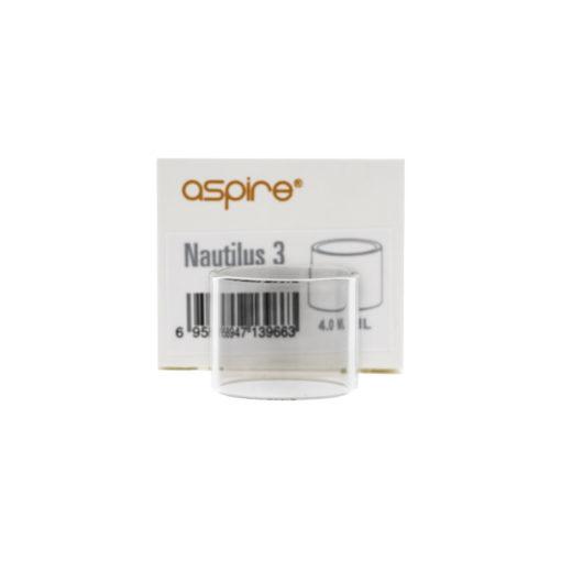 Réservoir de rechange en Pyrex pour le clearomiseur Nautilus 3 de la marque Aspire. Il offre une contenance de 4ml de eliquide.
