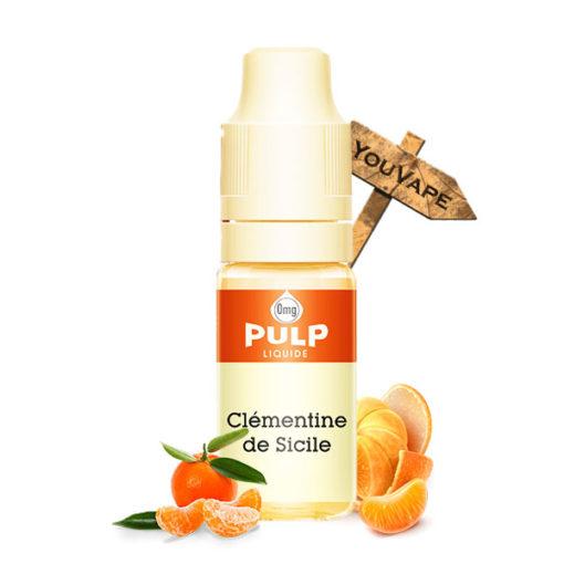 Eliquide Clémentine de Sicile 10ml par Pulp