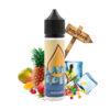 Le e liquide Seven Scentric de Flavor Drops est un tutti frutti exotique et acidulé, entre le jus de fruit et le bonbon, auréolé d'une fraîcheur toute Phillippine.