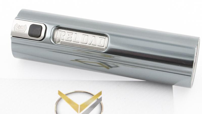 Comme à son habitude, Reload Vapor nous délivre un très bel objet. Il est beau et il a du style, voici son tube nommé Essential Mod. Fabriqué en acier inoxydable, plusieurs configurations s'offrent à vous, de 22 à 24mm, l'utilisation d'accu au format 18350 ou 18650. Bref, Reload Vapor vous offre le choix, tout en restant beau, quelle que soit la configuration choisie.