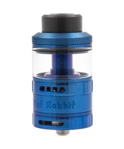 Avec ses saveurs intenses et son volume de vapeur indécent, le Fat Rabbit RTA et ses 28mm veut conquérir le cœur des vapoteurs experts. C'est que le gros lapin n'est pas mort, et qu'il a de gros arguments :double airflow, double coil et réservoir de 5.5ml pour profiter à fond de sa puissance sur une Fat box de votre choix.