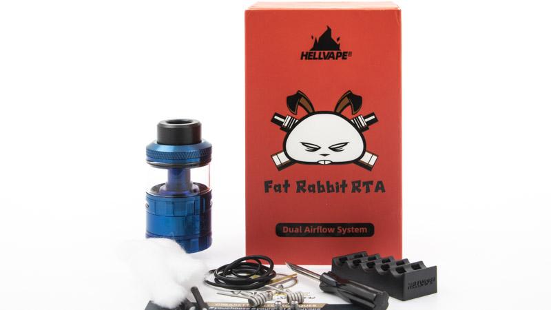 Contenu du coffret du Fat Rabbit de Hellvape