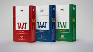 Taat est une nouvelle marque qui depuis le début de l'année 2021 cherche à conquérir le marché nord américain, avec des cigarettes sans nicotine ni tabac, qui seraient donc moins nocive pour la santé. Vraiment ?