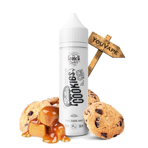 Eliquide Butter Cookies 50ml par The French Bakery