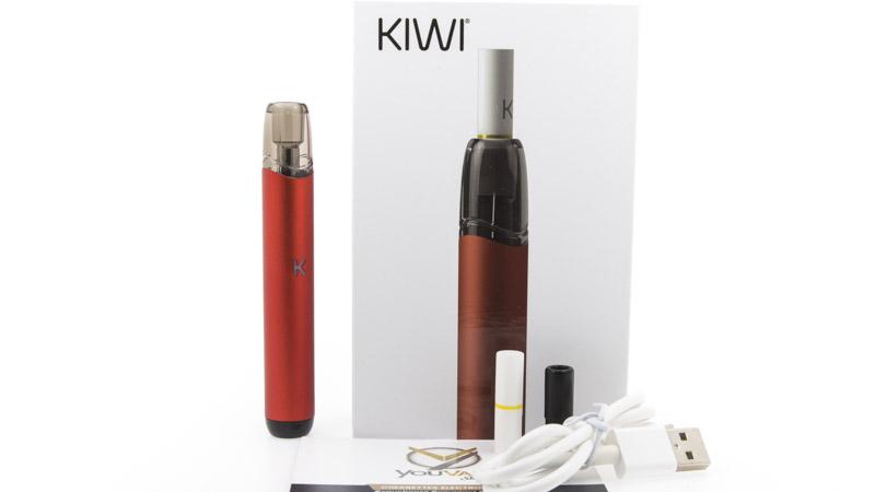 COntenu du coffret du Kiwi Pen de Kiwi Vapor