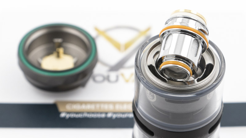 Geek Vape offre deux résistances différentes, de la série Z coils avec son clearomiseur. Elles sont en mesh, donc produisent une vapeur abondante, tout en offrant des saveurs soutenues.