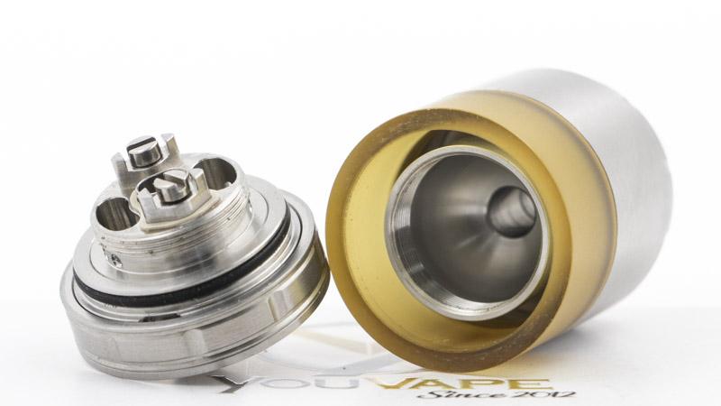Le plateau simple coil du Precision Pro 24 est, pour l'essentiel, identique à celui du Precisio, et c'est une bonne nouvelle. Avec sa cloche réduite, en dôme, il concentre bien les saveurs. Son montage est simple est évident. C'est un modèle idéal pour se lancer dans le reconstructible