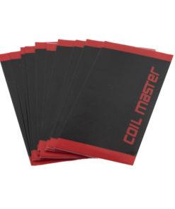 Packs de 4 Wraps Coil Master pour accus 18650, aux couleurs de la marque. Importants pour éviter tout court circuit, n'attendez pas avant de remplacer les revêtements fatigués de vos accus.